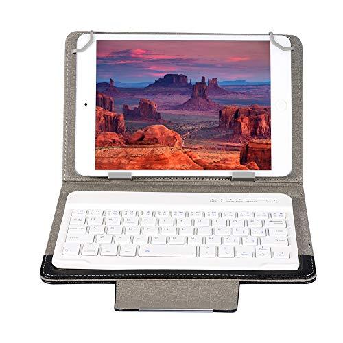 cover con tastiera tablet 10.1 ASHATA Tastiera Bluetooth con Cover Protettiva