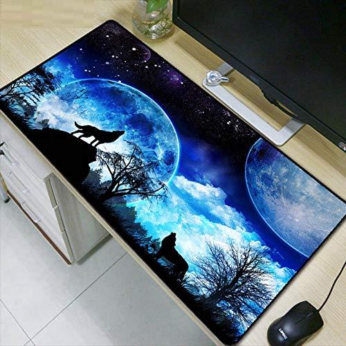 cking Edge Mauspad Gummi Spiel Mousepad Dekorieren Sie Ihren Schreibtisch zu Hause und im Büro, 80x30cm ()