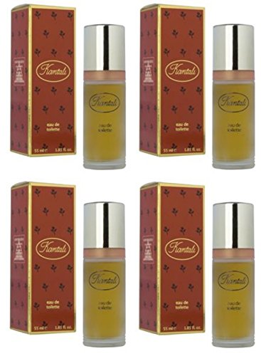 kantali Lot de 4 par Milton Lloyd Parfum de toilette 55 ml/parfum