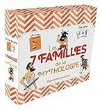Les 7 familles de la mythologie - 1 livre et 45 cartes