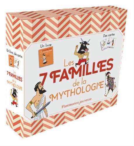 Les 7 familles de la mythologie : 1 livre et 45 cartes