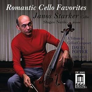 Pièces Romantiques Favorites Pour Violoncelle [Import anglais]