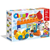 Clemmy Plus Play Set Petrol Station (15 Pieces)