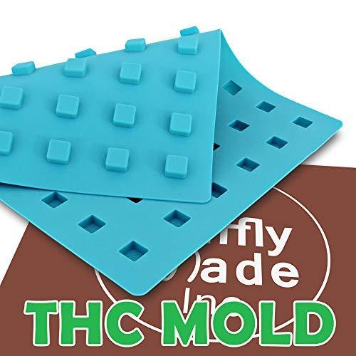 Mini-Form, rund, quadratisch, THC-Form, essbare Gummie, fügt das