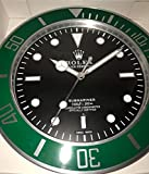 replica Rolex 35 mm de Pared Submariner Abrazadera Verde Metal Movimiento silencioso.