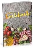 Dékokind Leeres Kochbuch: Für über 80 Lieblingsrezepte || Ca. A5 Softcover || Rezeptbuch zum Selbstgestalten / Selberschreiben mit Inhaltsverzeichnis || Motiv: Italienisch