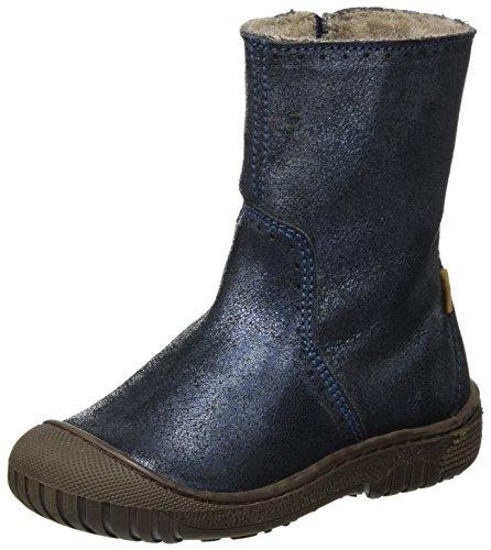 Bisgaard Unisex-Kinder Stiefel, Blau (611 Blue), 26 EU