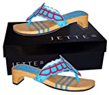 Jette New Mexican Sandal Turquoise/Red - Gr. 42