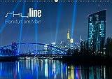 Skyline Frankfurt am Main (Wandkalender 2019 DIN A2 quer): Spektakuläre neue Ansichten der Mainmetropole (Monatskalender, 14 Seiten ) (CALVENDO Orte) - Ronald Wissler