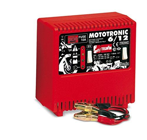 Chargeur de batterie Telwin spécial motos MOTOTRONIC 6/12V