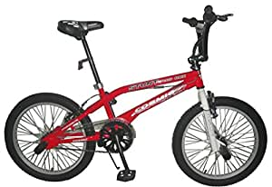 Cosmic Stunt Plus BMX Bicycle, Kid's 20-inch (Red)