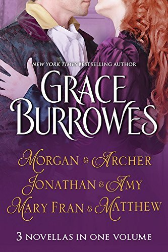 Portada del libro Morgan and Archer / Jonathan and Amy / Mary Fran and Matthew by Grace Burrowes (7-Apr-2015) Paperback