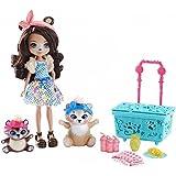 Mattel Enchantimals FCC64 - Themenpack Bären-Picknick, Puppe