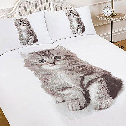 Housse de couette chat