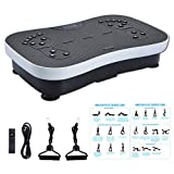FITODO Vibration Platform Power Plate Crazy Fit Workout Machine--Fitness for Home and Office/Balance