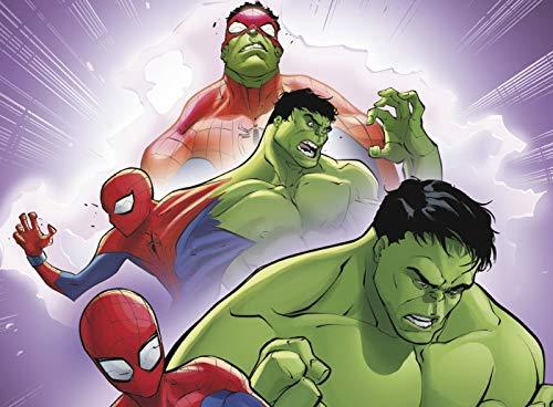 51O8dXEHScL - Historias de Spider-Man (Leo con Marvel - Nivel 3): La picadura de la Viuda | El  increíble Spider-Hulk | Choque de portales | La venganza de Mysterio
