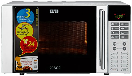 IFB-20SC2-20-Litre-1200-Watt-Convection-Microwave-Oven-Metallic-Silver