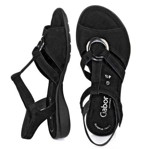 Gabor comfort sandales Noir - Noir