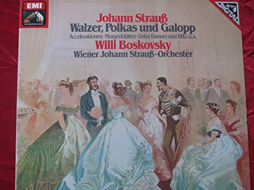ASD 4041 Johann Strauss II Waltzes Polkas Galops JSOV Willi Boskovsky LP