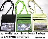 sunwallet nature Brustbeutel Brustsafe Brusttasche Umhängetasche Outdoor * green * - 5