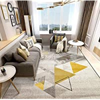 YZ-YUAN Tapis de Style Moderne Soft Touch épais de qualité, Tapis décoratif à la Maison décoratif pour Le Salon de la Chambre,2.4×3.4m