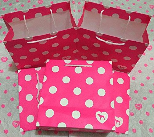 Victoria Secret Coffret cadeau Rose Parti Sacs Taille S (Lot de 5)