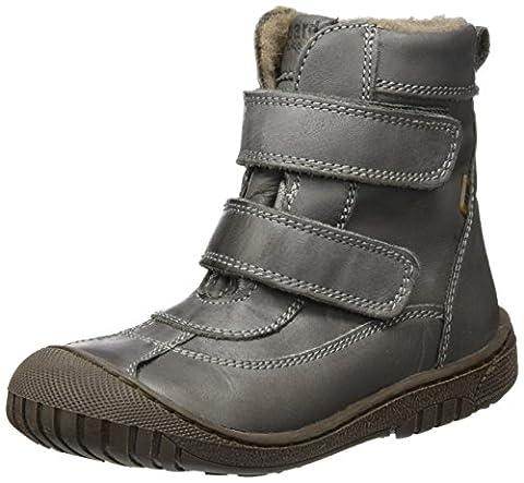 Bisgaard TEX boot 61016216, Unisex-Kinder Schneestiefel, Grau (400 Grey) 29