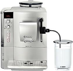 Bosch TES503M1DE Kaffee-Vollautomat VeroCafe Latte (1.7 l, 15 bar, externes Milchsystem) silber