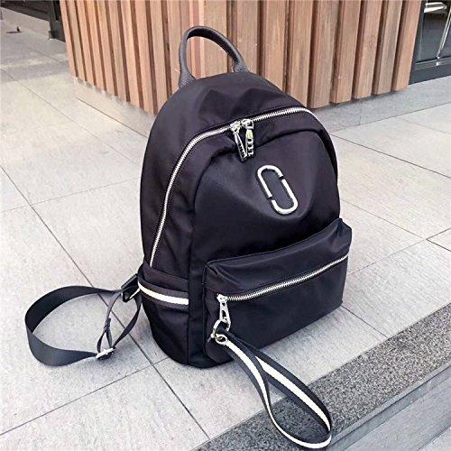 alla moda donna borsa, nuovo stile borsa a tracolla, oxford, stoffa, studente di borsa, la scuola.,nastro di colore oro nero