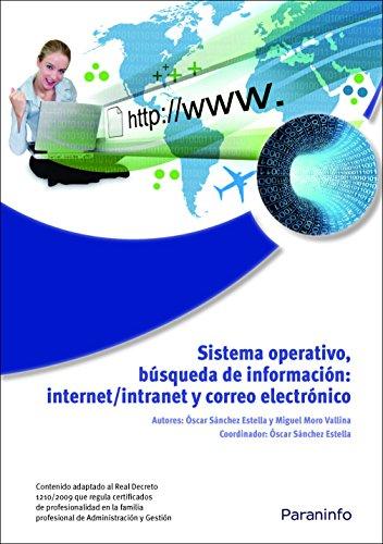 Sistema Operativo, Búsqueda de la Información: Internet/Intranet y Correo Electrónico. Windows 7, Outlook 2007 (Informatica Incual)