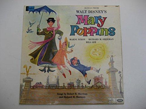 Price comparison product image Marni Nixon, Richard M. Sherman & Bill Lee : Songs From Walt Disney's Mary Poppins LP