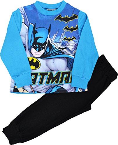 Pijama Oficial de Batman para Niños 3–10años multicolor Blue/Black 3-4 Años