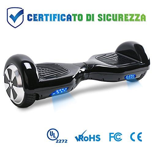 BEBK Hoverboard in Offerta 6.5' Overboard Bambini con Certificazione UL2272 LED,Autobilanciato Skateboard Elettrico, Scooter Elettrico