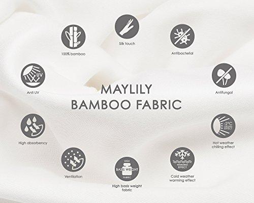 MayLily® Premium | Schöne Musselin Baby Pucktücher | 120x120cm | OEKO-TEX® Standard 100 Certificated | 100% Muslin Bambus | Anti Allergic | Made in EU | in vielen Farben erhältlich (Schwalben)