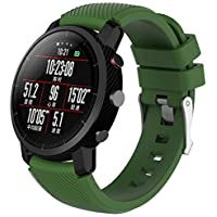 Sansee Replacement Soft Silicagel Sports Watch Band Strap For HUAMI Amazfit Stratos Smart Watch 2