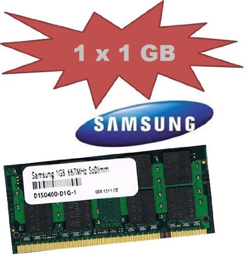 Mihatsch&Diewald Samsung 1Gb SoDimm 667 Mhz Pc-5300 Speicher Memory 200pin DDR2 Notebook Laptop 1024Mb Ram auch passend für Apple MacBook Pro 3,1 4,1 2007 / 2008 Mac mini 2,1 iMac 7,1 5,1 6,1 3,1 Late 2007 2008