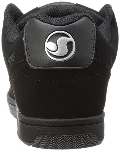 DVS Shoes Discord, chaussons d'intérieur homme Schwarz (Black Silver)