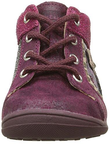 Catimini Anemone, Chaussures Premiers Pas Bébé Fille Rose (16 Vtc Bordo/Fuchsia Dpf/Gluck)