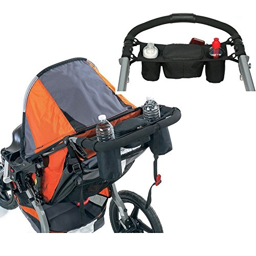 JUNGEN Kinderwagen Organizer Kinderwagen Zubehör Universal schwarz Baby Wickeltasche Kinderwagen Buggy Becherhalter passend für die meisten (Suiten Für Jungen)