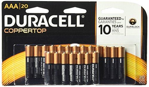 Coppertop Alkaline Batteries, Reclosable, AAA, 20/Pack - Coppertop Alkaline-batterien