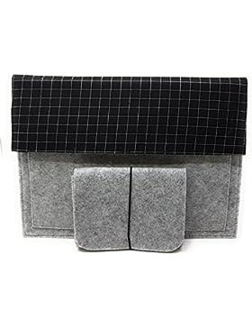 Mer's Style Carpeta Portadocumentos Funda Portátil Fieltro