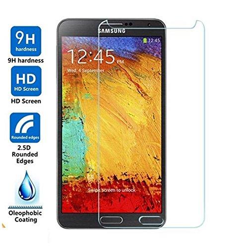 [2 Stück] CÄSAR-GLAS Panzerglas Schutzglas für Samsung Galaxy Note 3, Anti-Kratzen, Anti-Öl, Anti-Bläschen, 9H Echt Glas Panzerfolie Schutzfolie