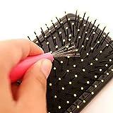 Neue Bürstenreiniger Kamm Haar Buerste Reiniger Haarbürste Kamm Reiniger Embedded Tool Kunststoff Reinigung Abnehmbarer Griff Kammreiniger Haarpinselreiniger