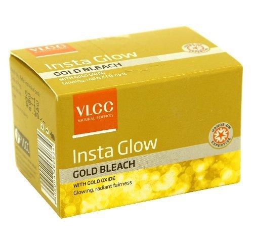 vlcc-insta-glow-gold-bleach-402gms-shipping-by-fedex-dhl