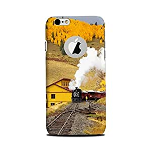 Primad High Quality Designer Printed Case & Cover for Iphone 6/ Iphone 6S With Logo Cut