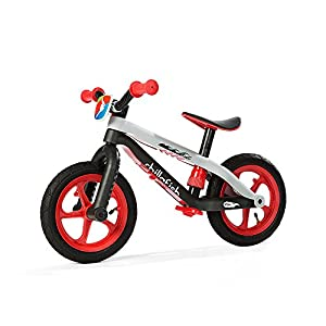Chillafish - BMXie Balance bicicleta sin pedales, color rojo (49902RED)