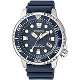 Citizen–Reloj de pulsera para hombre XL Promaster Marine analógico de cuarzo plástico bn0151–17L