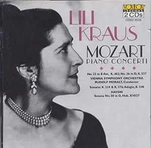 Lili Kraus Plays Mozart and Haydn [Import anglais]