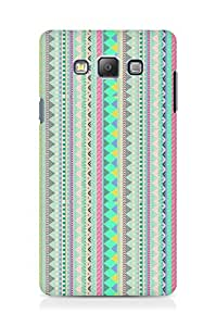 Amez designer printed 3d premium high quality back case cover for Samsung Galaxy A7 (aztec prints )