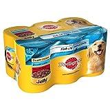 MARS PET-139357 Pedigree en gelée Pépites d'huile de poisson 6 Pack (400g)